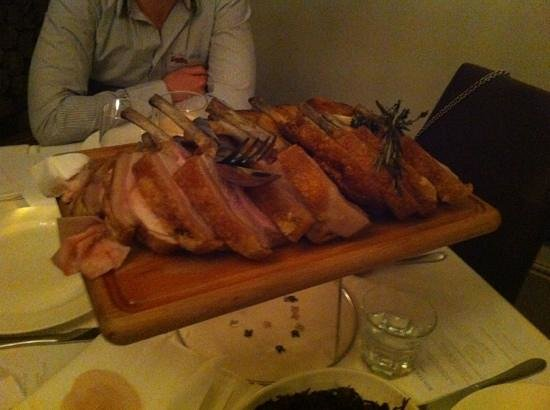 West Malling, UK: pork overload!