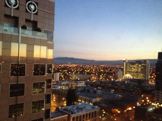 The Fairmont San Jose: Beautiful view from the 19th floor.