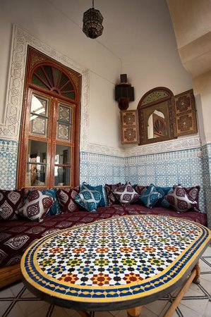 Riad Dar Sbihi, Outdoor Lounge
