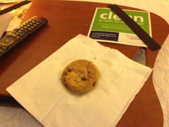 Hampton Inn Richmond Mechanicsville: Welcomed with cookies fresh from the oven