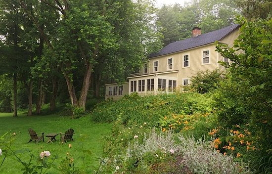 Hillsdale, NY: You may just want to spend the day relaxing and reading in the garden.