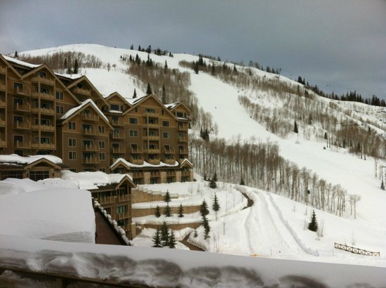 Montage Deer Valley: View toward Lady Morgan lift.