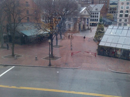 Millennium Bostonian Hotel: view of Faneuil Hall
