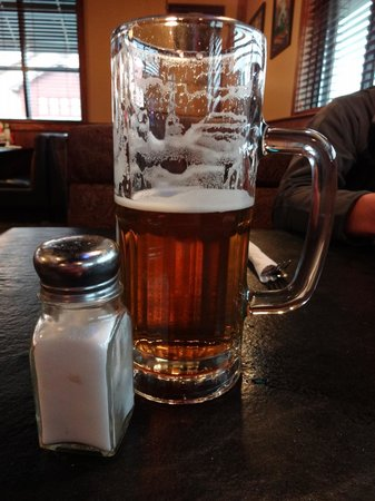Germantown, MD: A large beer is really large--salt shaker added for scale