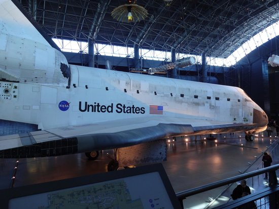 Loudoun County, VA: The actual shuttle that flew missions