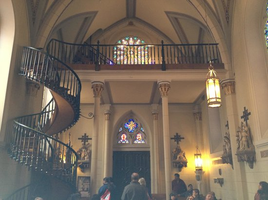 Self Supported Staircase Picture Of Loretto Chapel