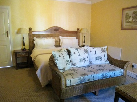 Knysna Country House: Comfortable rooms