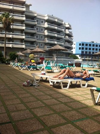 Aguamarina Golf Hotel: top pool area