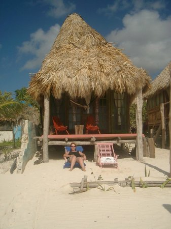 Cabanas Tulum: Notre petit cabanas sur la plage de Tulum