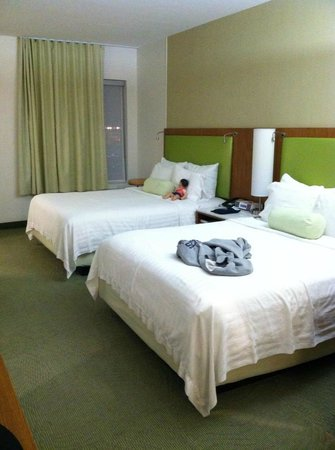 SpringHill Suites Houston Intercontinental Airport: Comfy beds