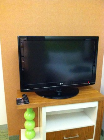 SpringHill Suites Houston Intercontinental Airport: LCD TV