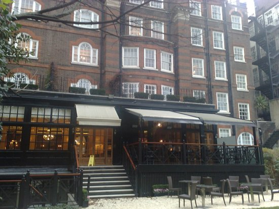 The Goring: Fachada interna
