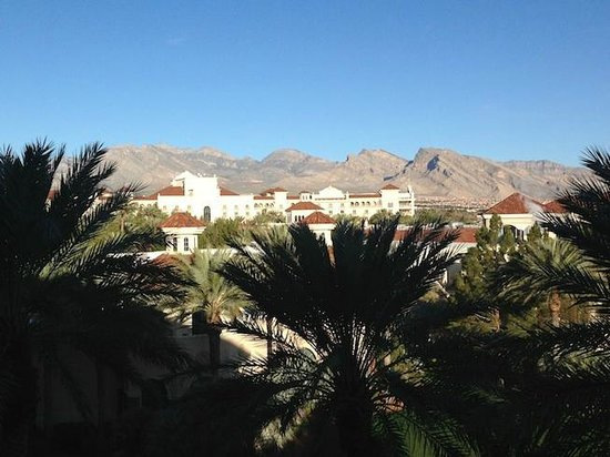 JW Marriott Las Vegas Resort, Spa & Golf: View to the left of balcony from room # 5125 - main tower