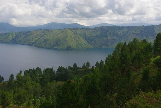 North Sumatra, Indonesi: view from near the top