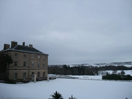 Heddon-on-the-Wall, UK: Wintry Scene at Close House