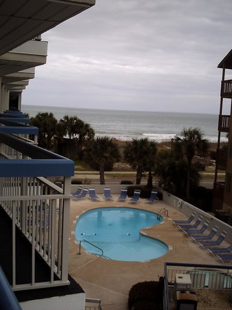 Forest Dunes Resort: view from our balcony