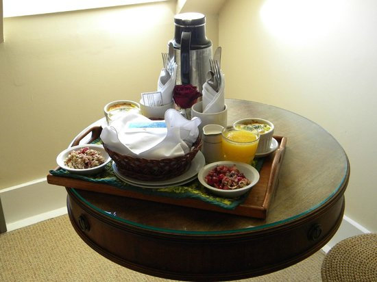 Glendeven Inn: Wonderful breakfasts