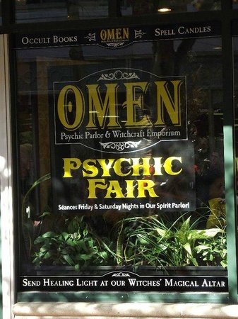 Omen: Psychic Parlor and Witchcraft Emporium