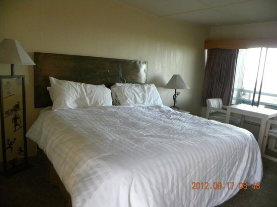 Far View Lodge: King size bed