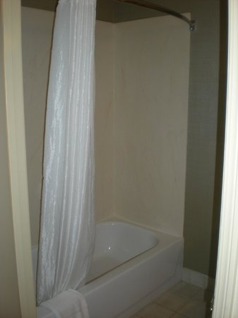 Country Inn & Suites Norcross: Shower curved shower rod