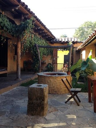 Posada del Abuelito: cour commune