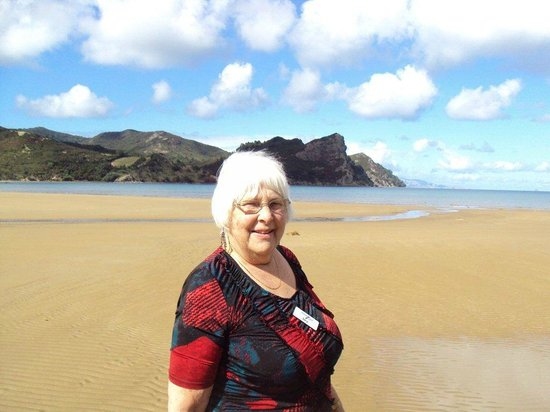 Great Barrier Island, Новая Зеландия: Soaking up the fresh air and wide open spaces