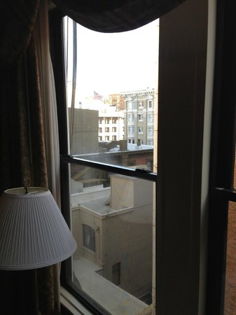 Hotel Cartwright Union Square: View out the window to left side
