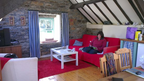 Grove House and Courtyard Cottages: Lounge area