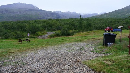 Egilsstadir, Island: camp site