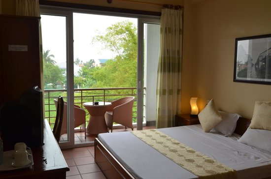 Thien Nga Hotel: Superior double room with rice paddie view