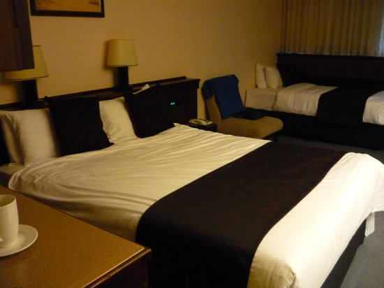 Kings Perth Hotel: A big enough and comfortable bed for the night