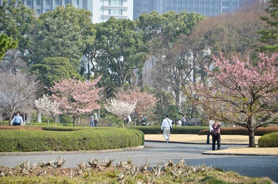 Just outside the Imperial Gardens - Picture of The East Gardens of the Imperi...