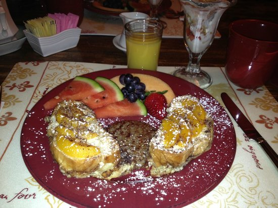 Piney Hill Bed & Breakfast: french toast version 1