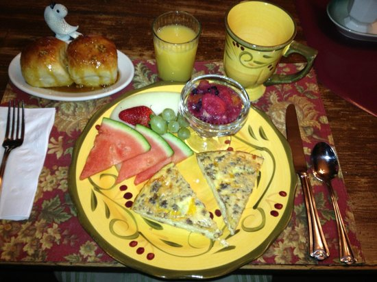 Piney Hill Bed & Breakfast: you can find the recipe in their cookbook