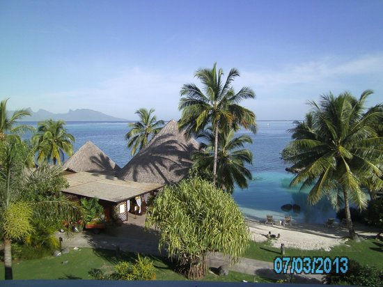 InterContinental Resort Tahiti: View from our balcony