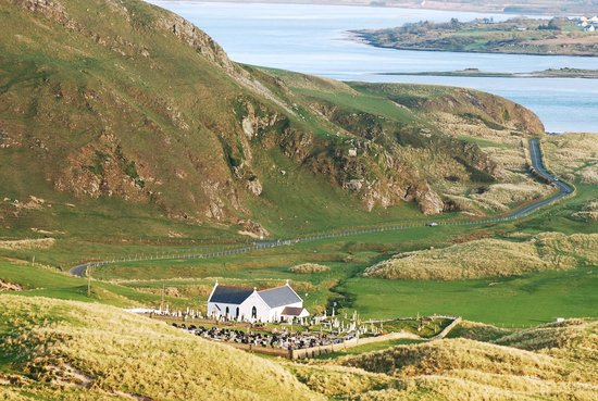 Inishowen Peninsula, Ireland: Lagg Chapel