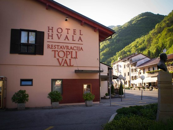 Photo of Hotel Hvala restaurant Topli Val Kobarid