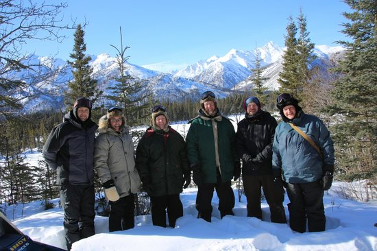 Tok, AK: A break from snow machining