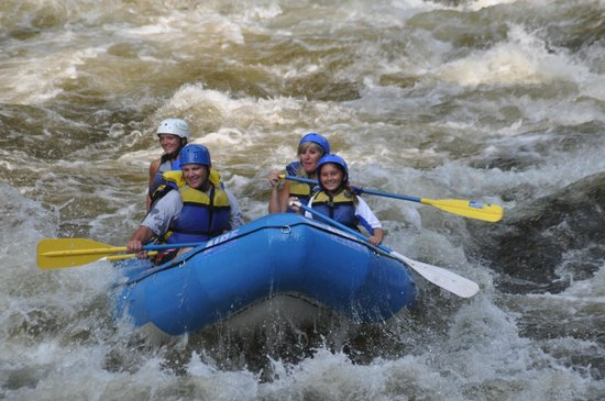 Hartford, TN: Rafting on the Pigeon River.
