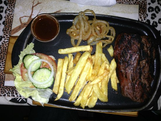 Colchester, Afrika Selatan: Filet-Steak 400 gr.