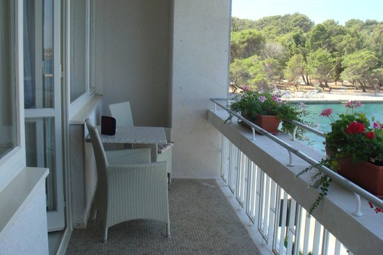 Brijuni National Park, Kroatia: our balcony