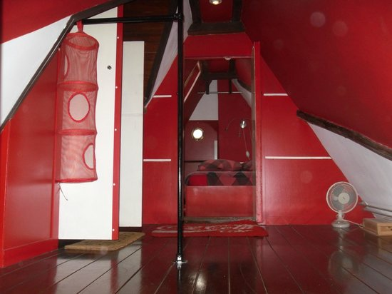 Amsterdam Escape: Upstairs loft bedrooms