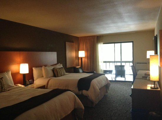 The Resort at The Mountain: View of room.