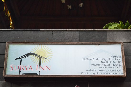 Surya Inn: Address