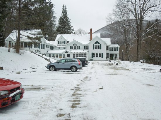 West Mountain Inn after it snowed
