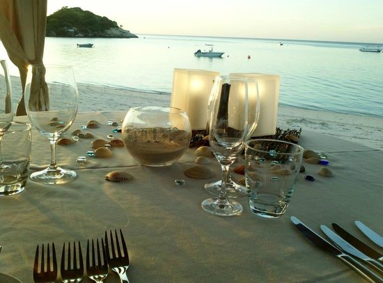 Lizard Island Resort: Beachside Degustation