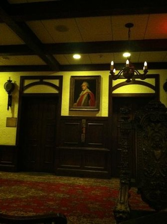 The Cheshire: elevators in main lobby