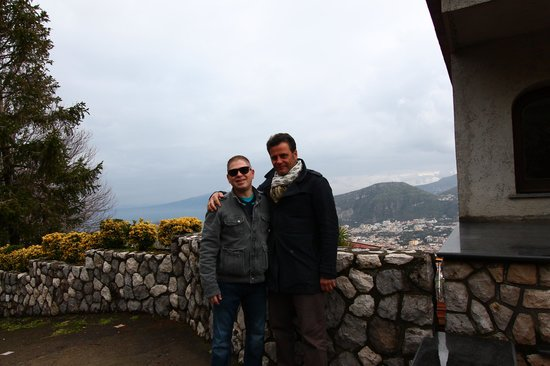 Villa Monica B&B: Sam and Pasquale...