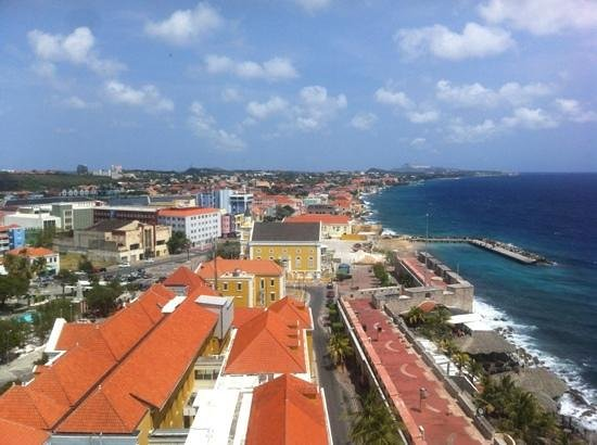 Plaza Hotel Curacao: The view from my room