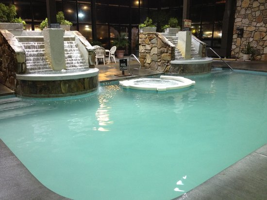 BEST WESTERN Plaza Inn: Indoor pool and hot tub